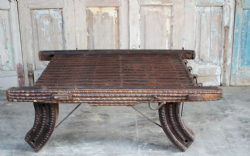 Antique Camel Cart Table, Thar Desert, Rajasthan  <b>SOLD<b>